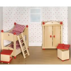 Puppenmoebel Kinderzimmer