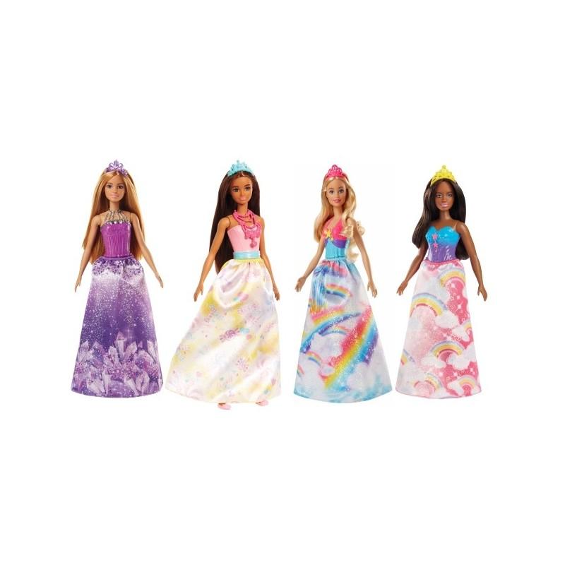 Mattel Barbie FJC94 Dreamtopia Prinzessinnen Sortiment