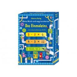 Wisch- und Weg Lernkarten 1X1