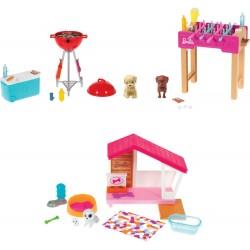 Mattel GRG75 Barbie Mini Spielset mit Tier, sortiert