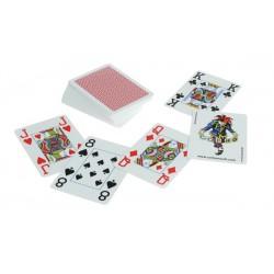 COPAG® Plastik Poker Jumbo Index rot