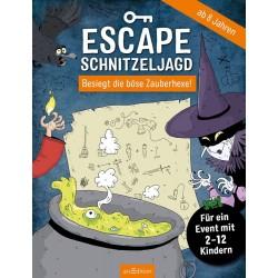 Escape-Schnitzeljagd - Böse Zauberhexe