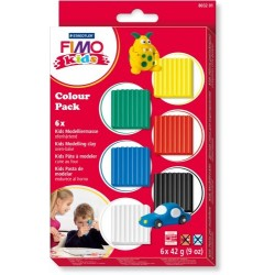 FIMO kids Colour Pack   basic 6x42g
