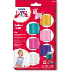 FIMO kids Colour Pack   girlie 6x42g