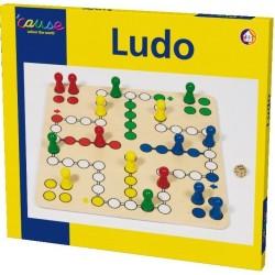 Brettspiel Ludo 50x50 cm