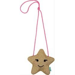 Glitzer Täschchen Stern   Weihnachtsgeschenke für Kinder