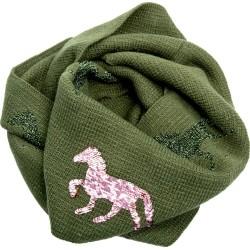 LOOP Schal I LOVE HORSES